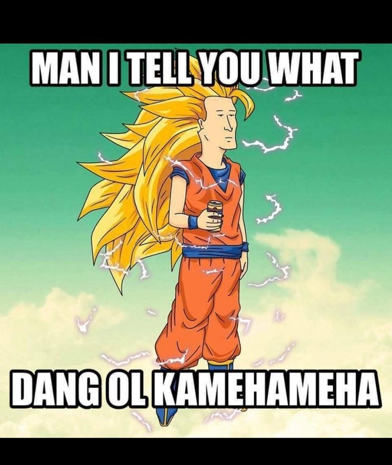Cartoon - MANI TELLYOU WHAT DANG OL KAMEHAMEHA