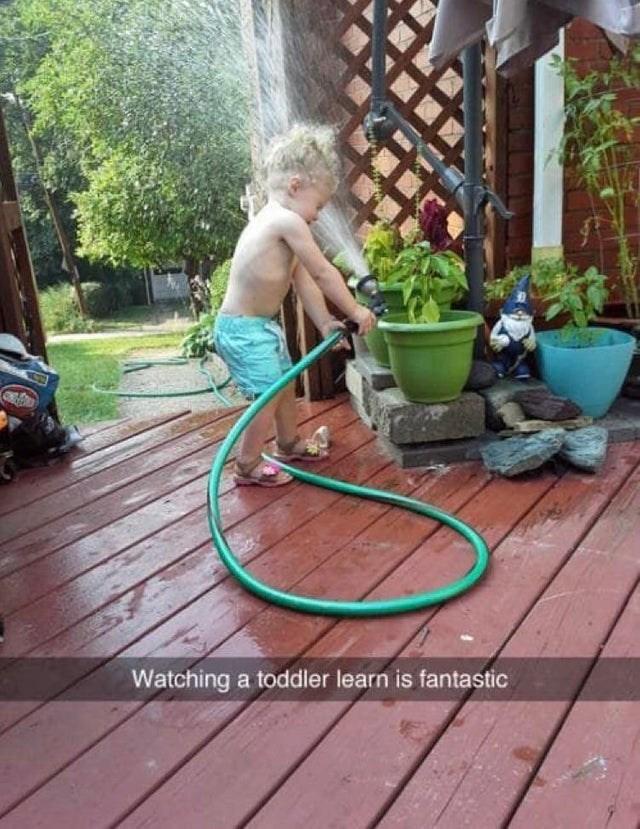 Hula hoop - Watching a toddler learn is fantastic