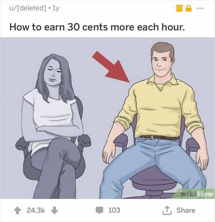wikihow - Cartoon - u/[deleted] ly How to earn 30 cents more each hour. wiki How 24.3k Share 103