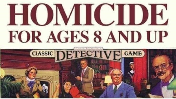 Font - HOMICIDE FOR AGES 8 AND UP ARKER ROTHRS DETECTIVE GAME CLASSIC