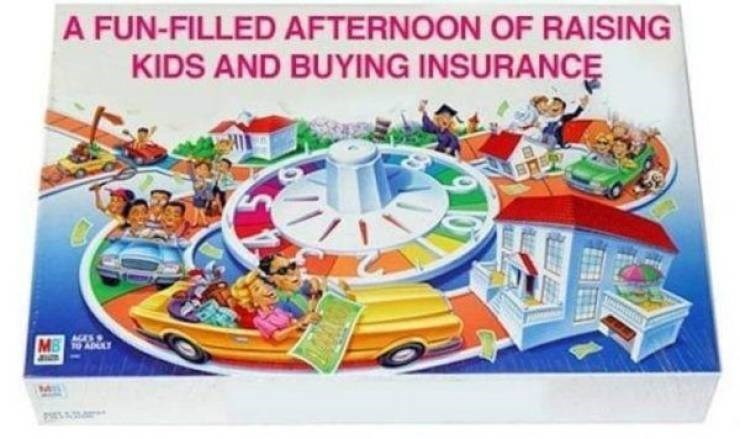 Games - A FUN-FILLED AFTERNOON OF RAISING KIDS AND BUYING INSURANCE MB