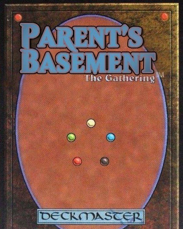 Games - PARENT'S BASEMENT The Gathering DECKMASTER