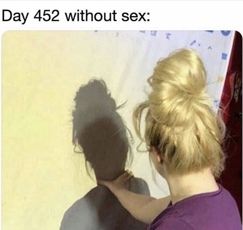 meme - Hair - Day 452 without sex: