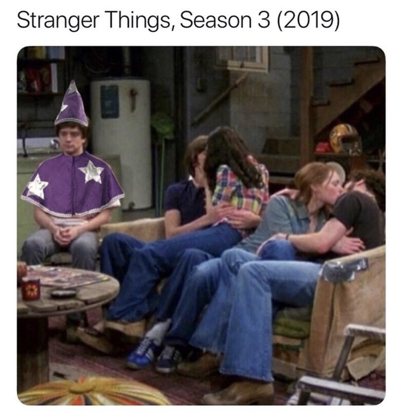 meme - Community - Stranger Things, Season 3 (2019)