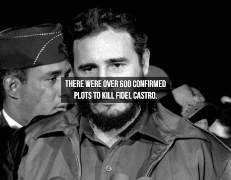 Photography - THERE WERE OVER 600 CONFIRMED PLOTS TO KILL FIDEL CASTRO