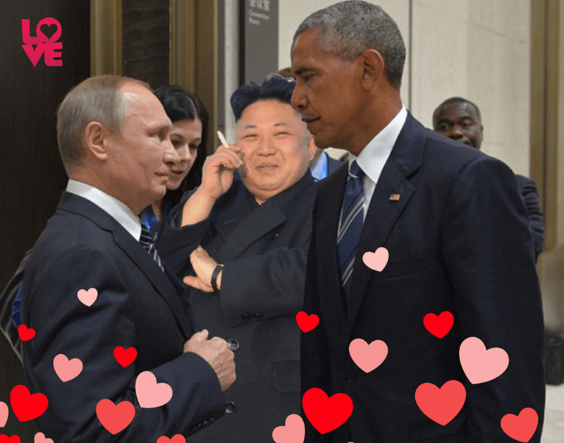 list photoshop battle barack obama Vladimir Putin - 933893