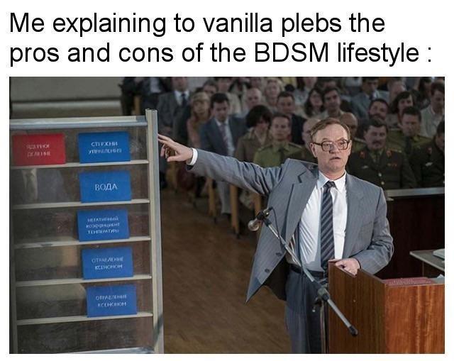 Presentation - Me explaining to vanilla plebs the pros and cons of the BDSM lifestyle CTIFXH yen ВОДА T0eATRi OTIALO CIHONOH DtFALH CCHC