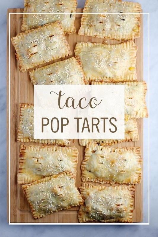 Food - taco POP TARTS