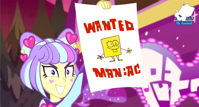supernova zap equestria girls sunset's backstage pass screencap SpongeBob SquarePants - 9339103488