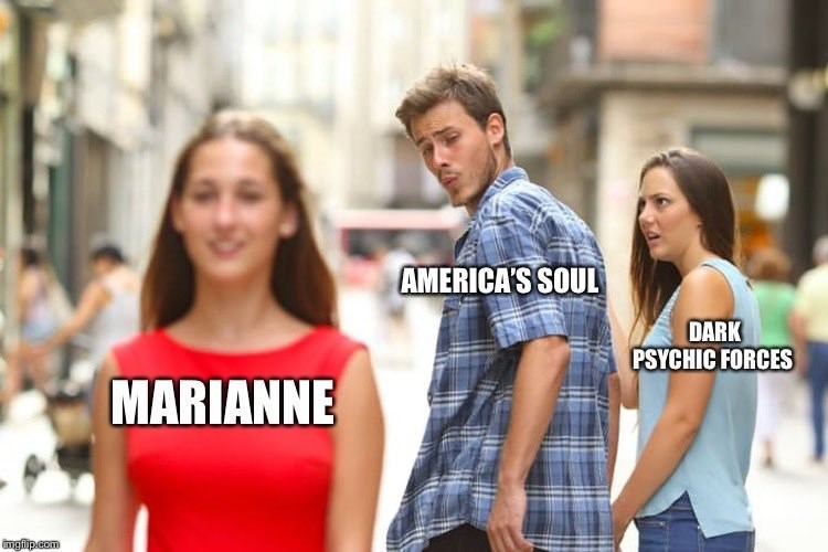 Marianne Williamson - People - AMERICAS SOUL DARK PSYCHIC FORCES MARIANNE imgflp com