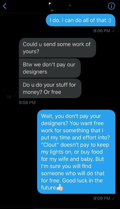choosing beggars