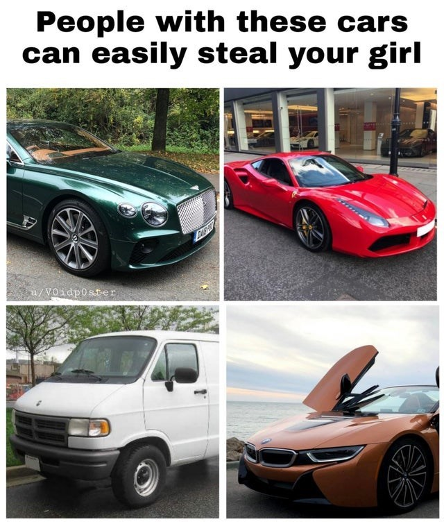 Land vehicle - People with these cars can easily steal your girl u/VOidp0ster