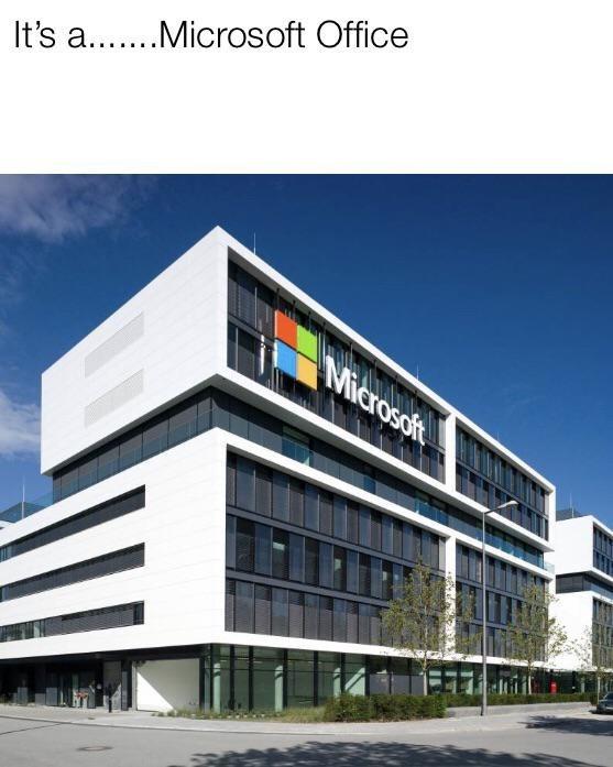 Architecture - It's a....Microsoft Office Microsofi