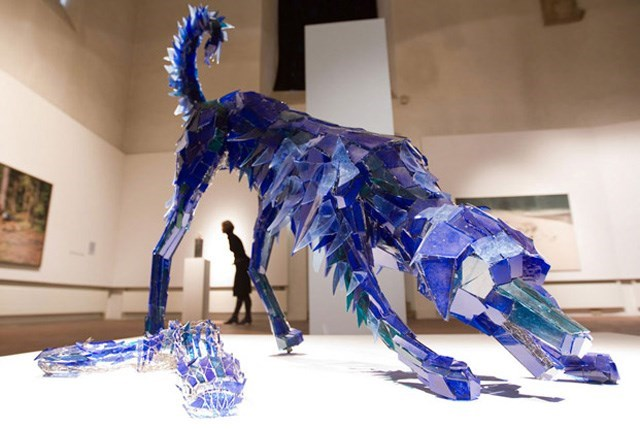 glass animal - Blue