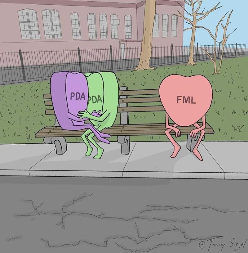 candy heart comic - Cartoon - FML PDA PDA
