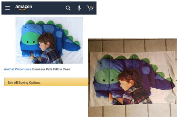 Cartoon - amazon Q Animal Pillow case Dinosaur Kids Pillow Case See All Buying Options