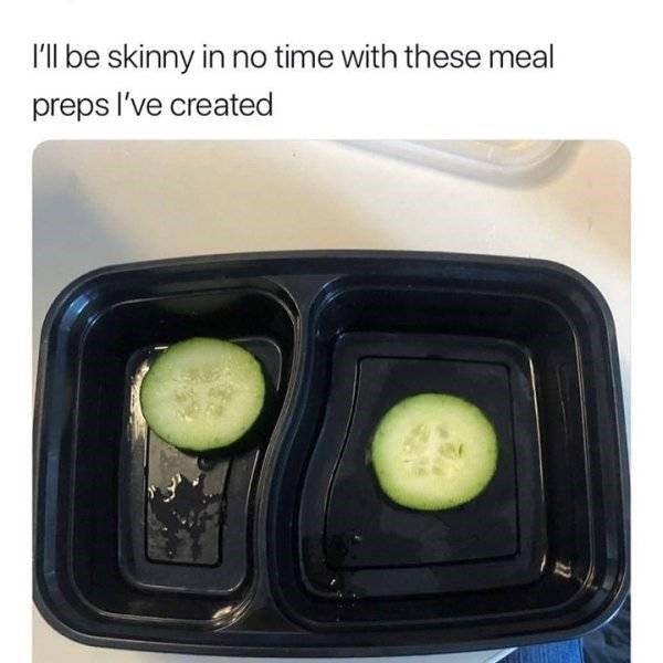 Food - I'll be skinny in no time with these meal preps l've created