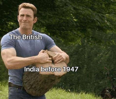 Grass - The British India before 1947