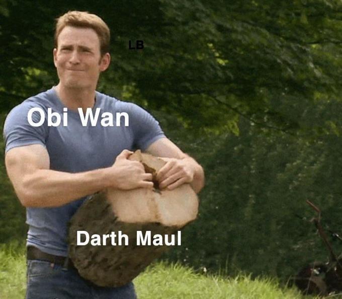 Arm - LB Obi Wan Darth Maul