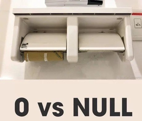 coding meme - Automotive exterior - /A 0 vs NULL