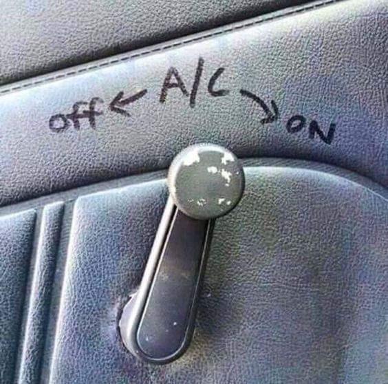 Vehicle - ON off A/c