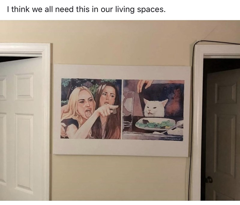 """Meme - """"I think we all need this in our living spaces."""""""