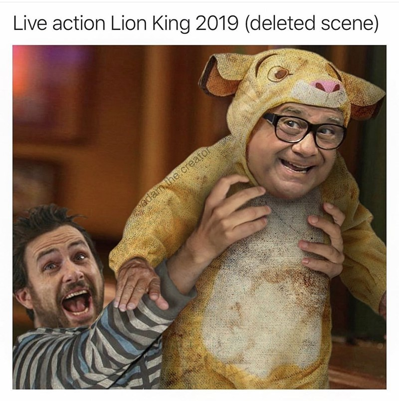 Cartoon - Live action Lion King 2019 (deleted scene) dam the creator