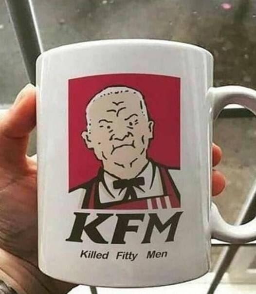 Mug - KFM Killed Fitty Men