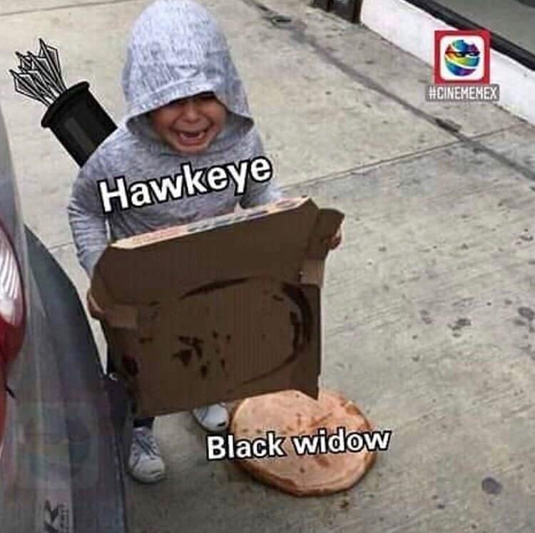 Headgear - HCINEMENEX Hawkeye Black widow Vi