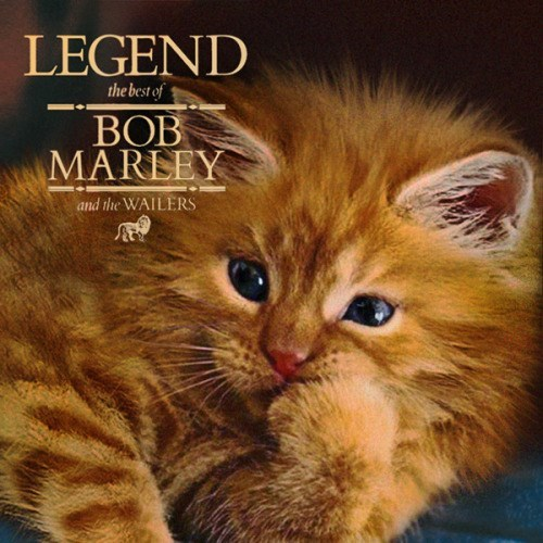 kitten covers - Cat - LEGEND the best of BOB MAREEY and the WAILERS
