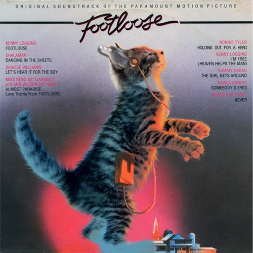 """kitten covers - Felidae - ORIGINAL SOUNDTRACK OF THE PARAMOUNT MOTION PICTURE Foollnge BONNIE TYLER HOLDING OUT FOR A HERO KENNY LOGGINS rM FREE (HEAVEN HELPS THE MAN) SAMMY HAGAR THE GIRL GETS AROUND KENNY LOGGINS FOOTLOOSE SHALAMAR DANCING IN THE SHEETS DENIECE WILLIAMS LETS HEAR IT FOR THE BOY MIKE RENO (of """"Loverboy and ANN WILSON totHear ALMOST PARADISE Love Theme From FOOTLOOSE KARLA BONOFE SOMEBODY'S EYES NEVER"""