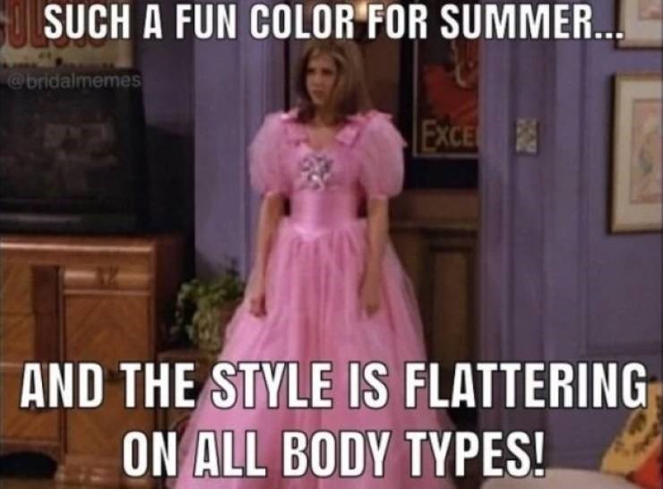 wedding - Dress - OLSUCH A FUN COLOR FOR SUMMER... @bridalmemes EXCE AND THE STYLE IS FLATTERING ON ALL BODY TYPES!