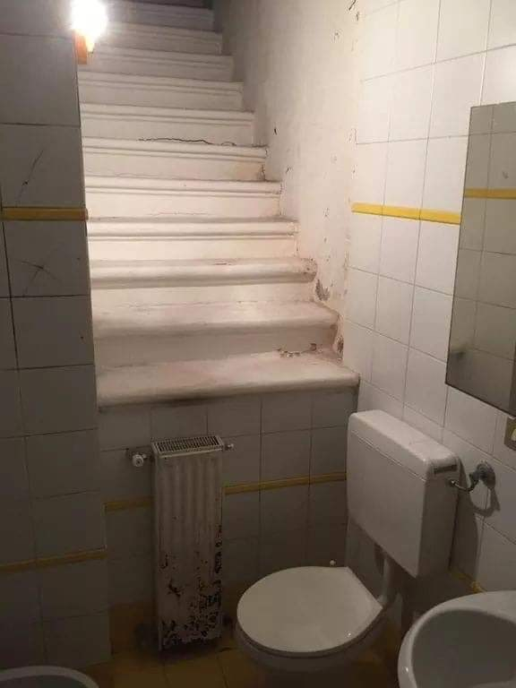 cursed toilet - Bathroom