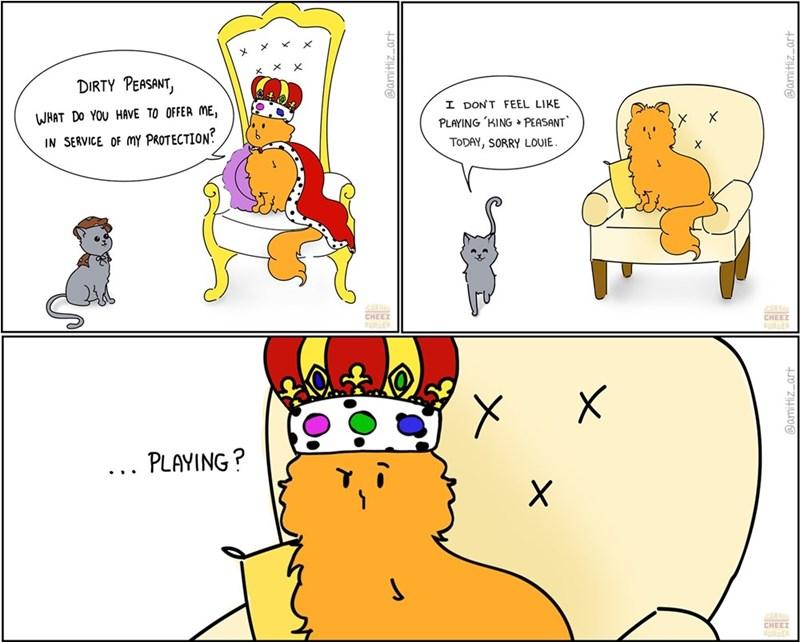 art king instagram lol comic Cats funny web comics - 9341866496
