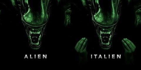 Green - ALIEN ITALIEN