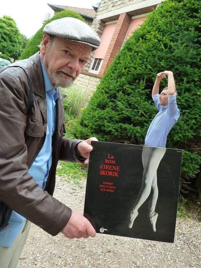 """Picture - """"La leçon d'IRENE SKORIK nbesina pour la barre et le milieu"""" album cover"""
