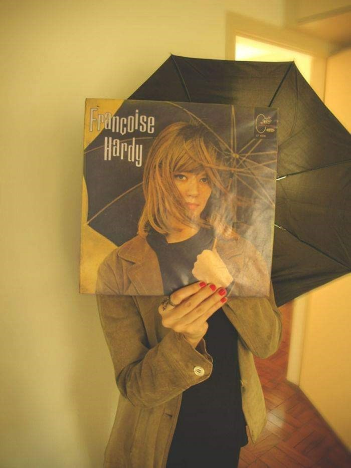 optical illusion - Umbrella - Founcoise Hardiy