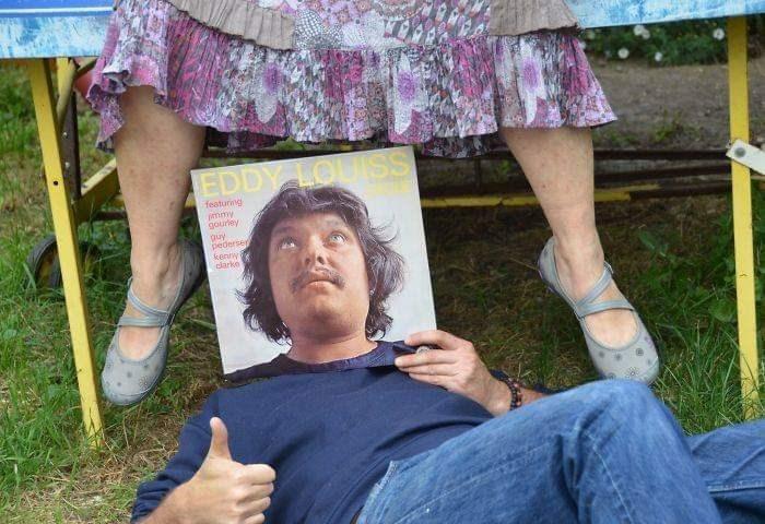 optical illusion - Leg - EDDY LOUISS featuring mmy gourley guy pederseg kenry8 clarko