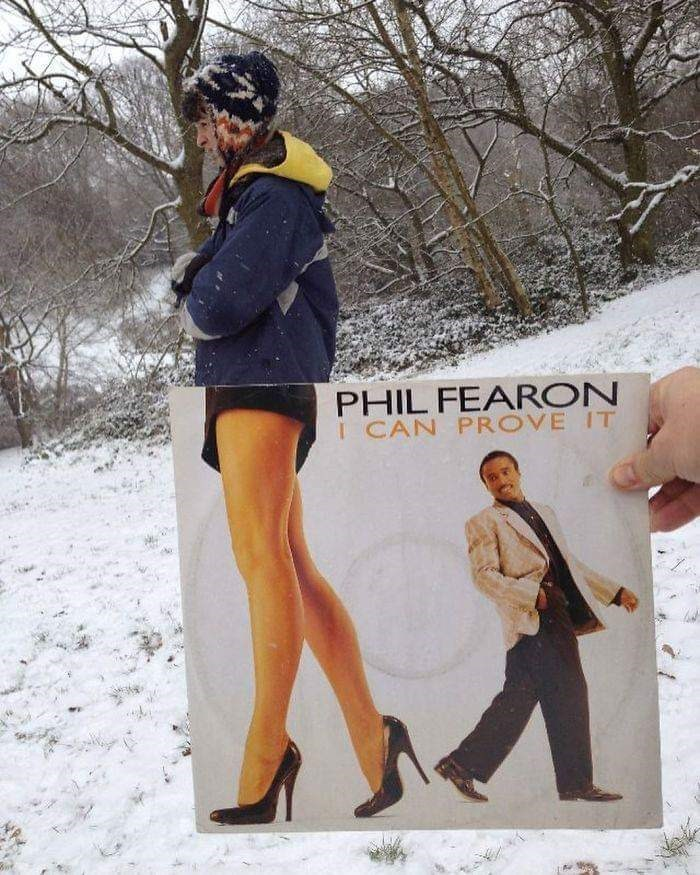 optical illusion - Snow - PHIL FEARON I CAN PROVE IT