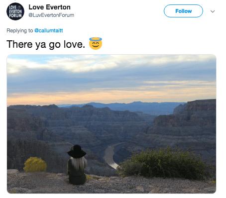 photoshop trolling - Sky - VERTION LOve Everton FOR UM LuvEvertonForum LOVE Follow Replying to @callumtaitt There ya go love.