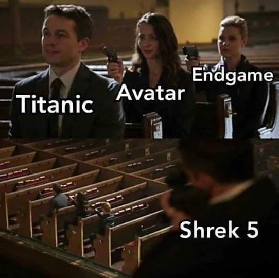 Musical instrument - Endgame Titanic Avatar Shrek 5