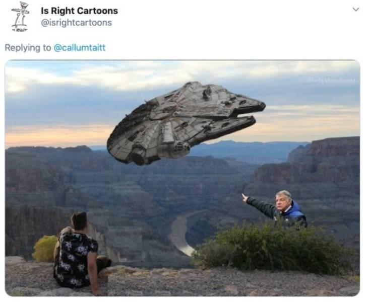 ex photoshop - Rock - Is Right Cartoons @isrightcartoons Replying to @callumtaitt