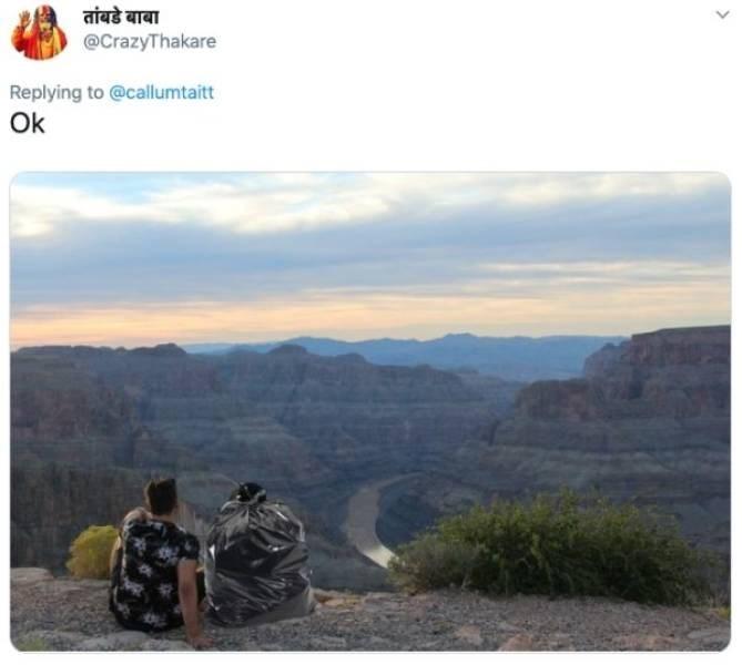 ex photoshop - Sky - तांबडे बाबा @CrazyThakare Replying to @callumtaitt Ok