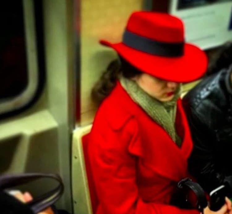 public transport - Red