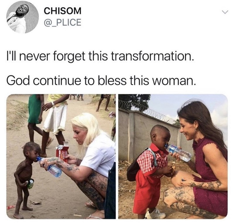 Adaptation - CHISOM @_PLICE 'll never forget this transformation. God continue to bless this woman