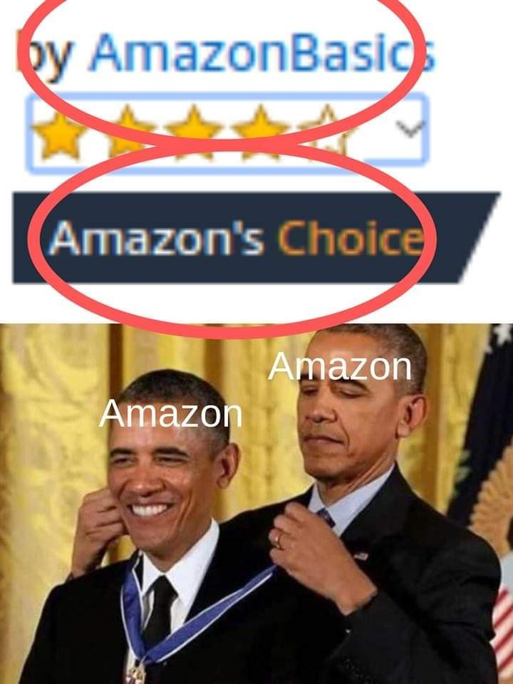 meme - Font - by AmazonBasics Amazon's Choice Amazon Amazon