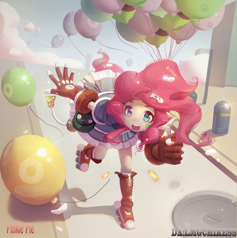 lmgchikess humanized pinkie pie - 9344069120