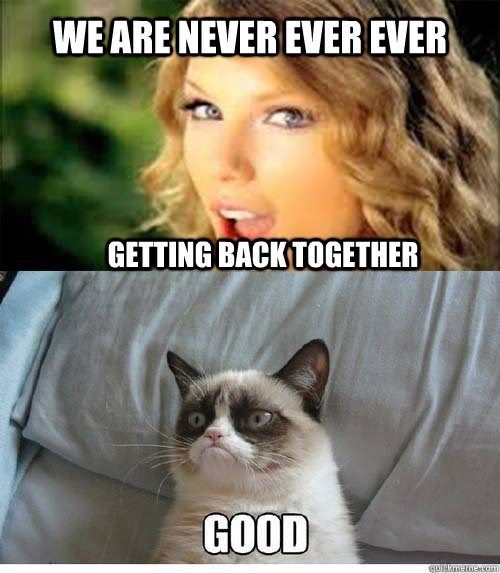 Hair - WE ARE NEVER EVEREVER GETTING BACKTOGETHER GOOD cuickmemecom