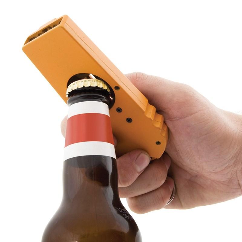 beer bottle opener shoot funny - 93445