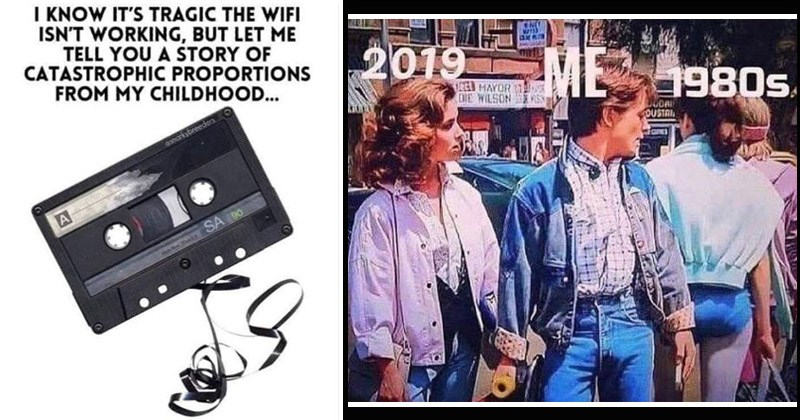 Funny memes about life in the '80s
